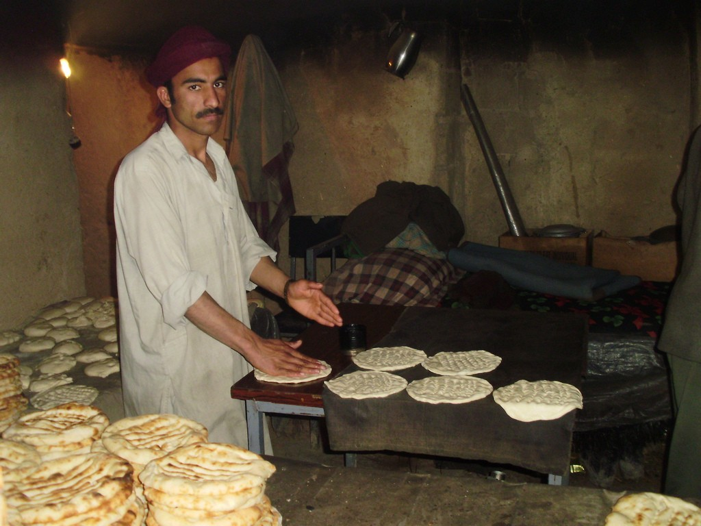 Afghanistan bread-maker