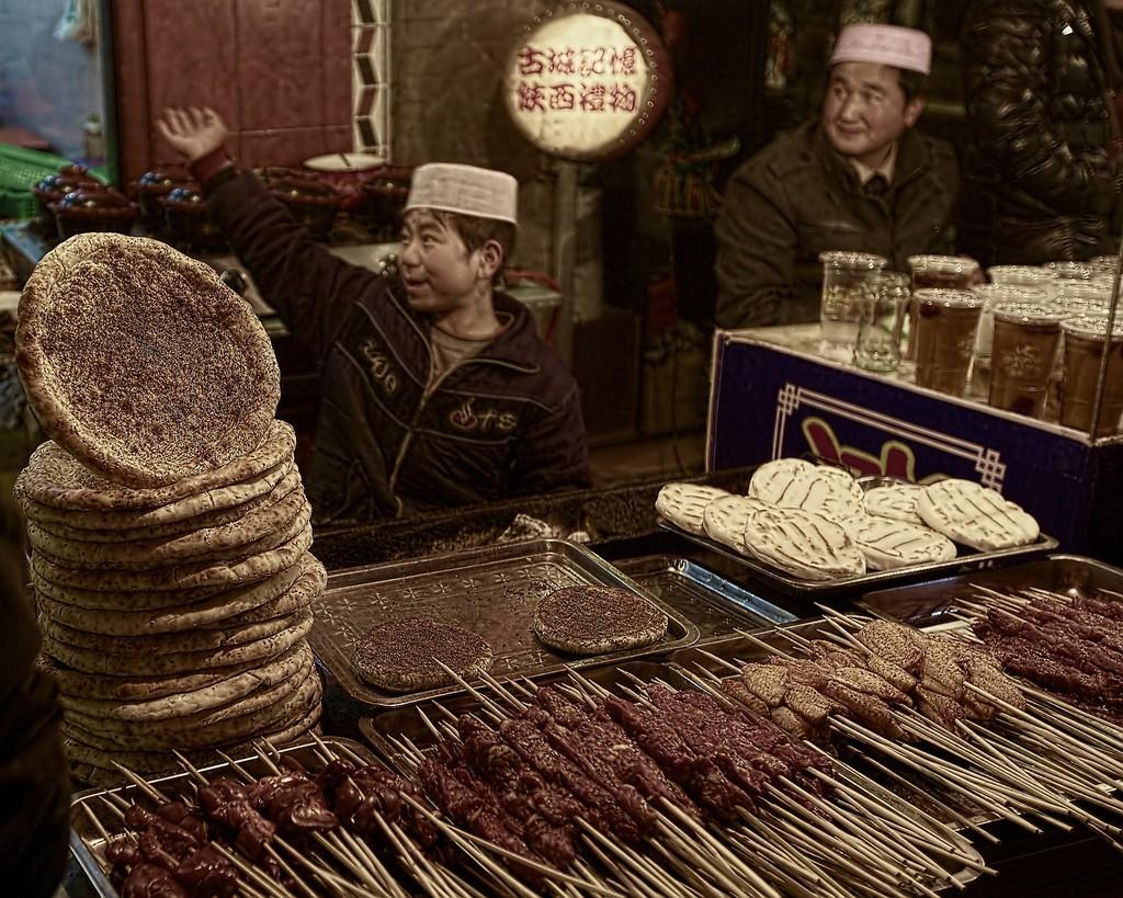 China, bread