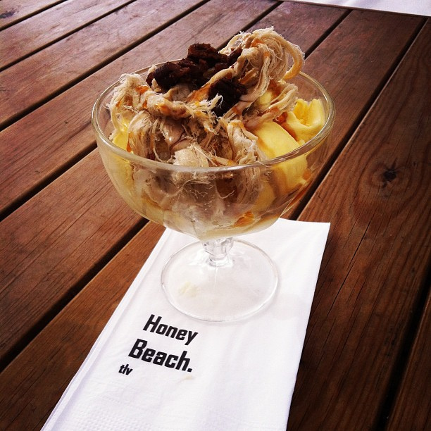 Halva ice cream