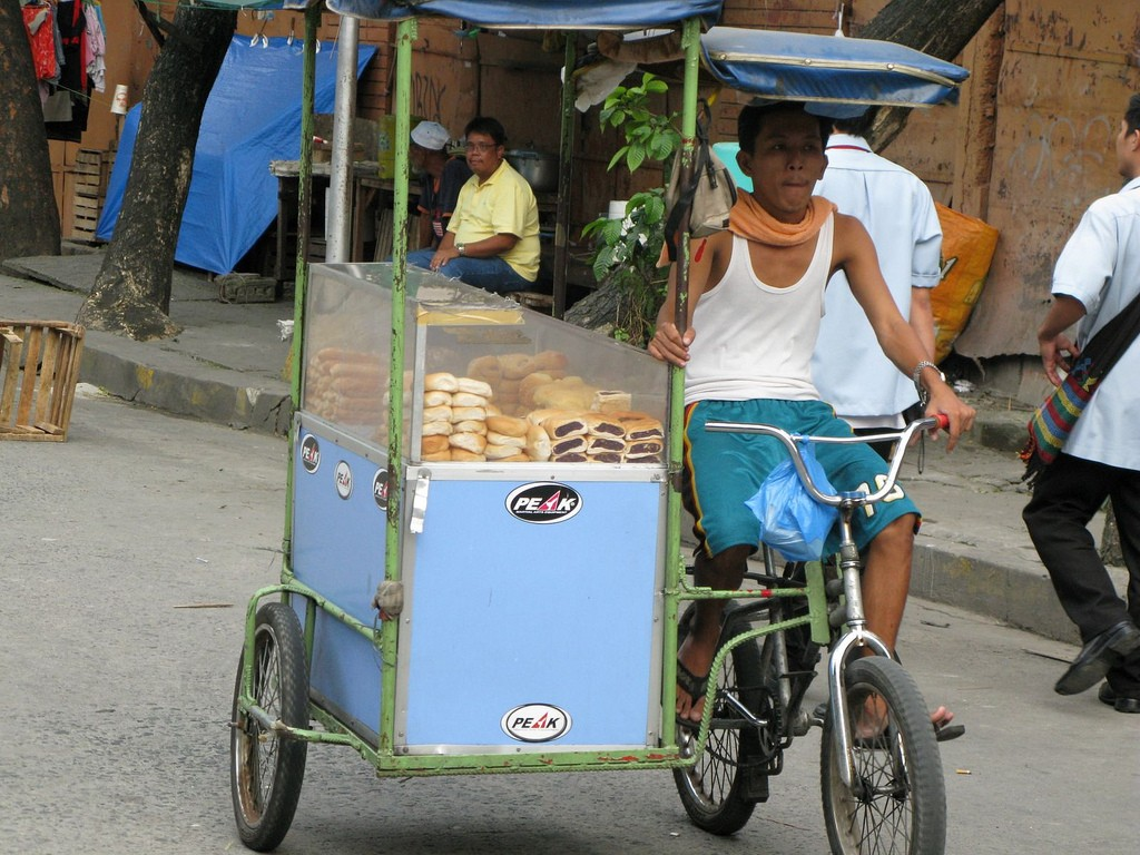 Philippines, bread seller