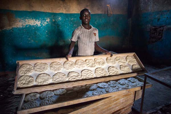 Sudan, traditional bread
