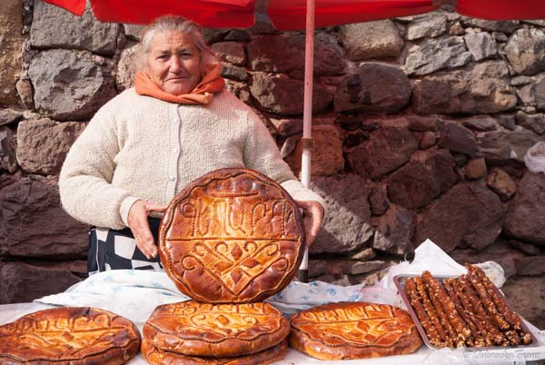 Traditional bread armenia