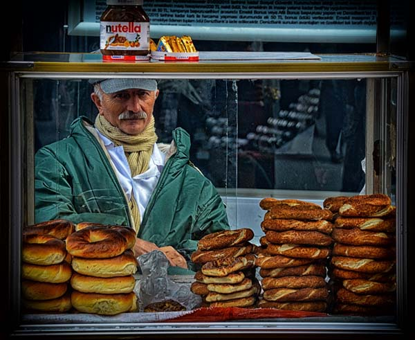 Turkey, bread selling