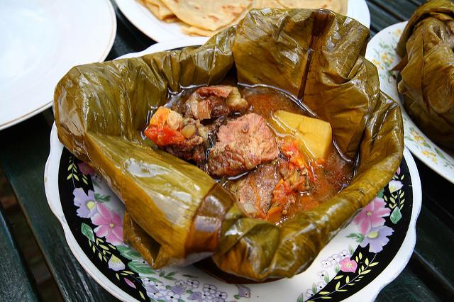 Luwombo-stew